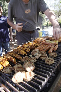 Jodo Practice and Competition - BBQ