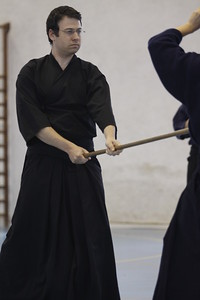 Jodo Practice and Competition