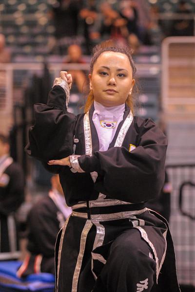 Black Belt Competitor at the Kuk Sool Won World Championship, Katy, TX  2015-10-10