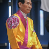 Grandmaster In Hyuk Suh at the 2016 WKSA Pacific Tournament, Folsom, CA.  April 16, 2016.