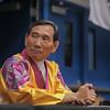 Grandmaster In Hyuk Suh at the 2016 WKSA Pacific Tournament, Folsom, CA.  April 16, 2016.