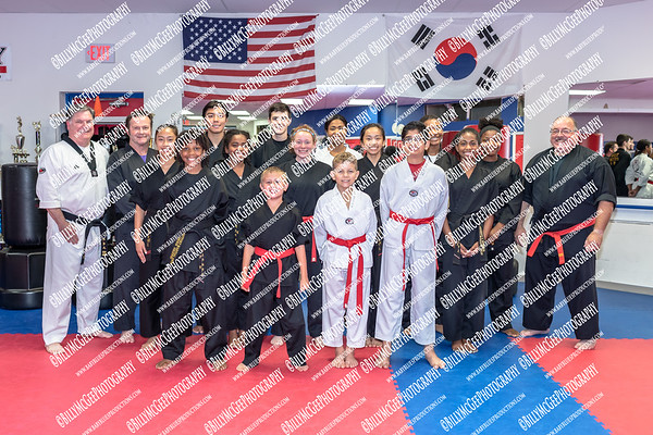 Black Belt Candidates - Team Portrait Photos - 24 Jul 2018