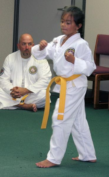 Grand Master Han's Martial Arts California Division July 31, 2008 Testing
