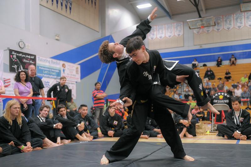 Devon competes at the 2016 WKSA Pacific Tournament, Folsom, CA.  April 16, 2016.