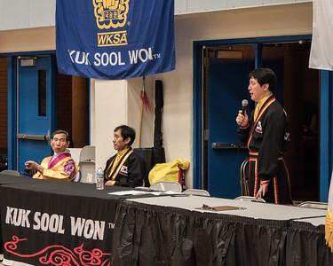 Master Alex Suh SIKJN at the 2016 WKSA Pacific Tournament, Folsom, CA.  April 16, 2016.