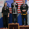 Nishant medals at the 2016 WKSA Pacific Tournament, Folsom, CA.  April 16, 2016.