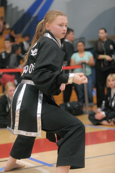 Lauren competes at the 2016 WKSA Pacific Tournament, Folsom, CA.  April 16, 2016.