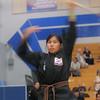Elizabeth competing at the 2016 WKSA Pacific Tournament, Folsom, CA.  April 16, 2016.