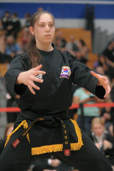 Annika competes at the 2016 WKSA Pacific Tournament, Folsom, CA.  April 16, 2016.