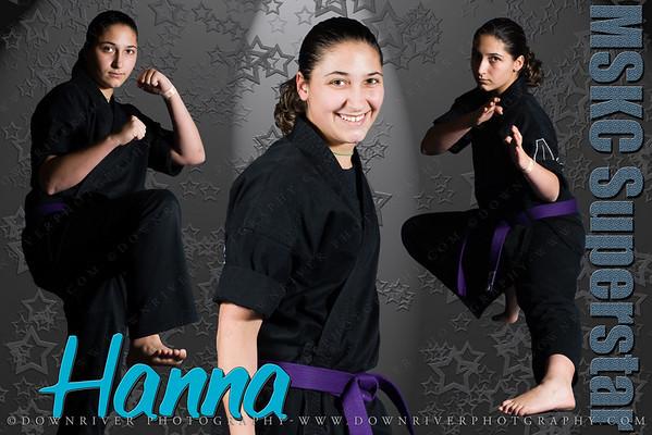 "HannaPoster1                                                                   $25.00 - #HannaPoster1 20x30"" Poster                     $35.00 - #HannaPoster1 30x40"" Poster                     $10.00 - #HannaPoster1 UPGRADE 20x30 to 30x40"" Poster"