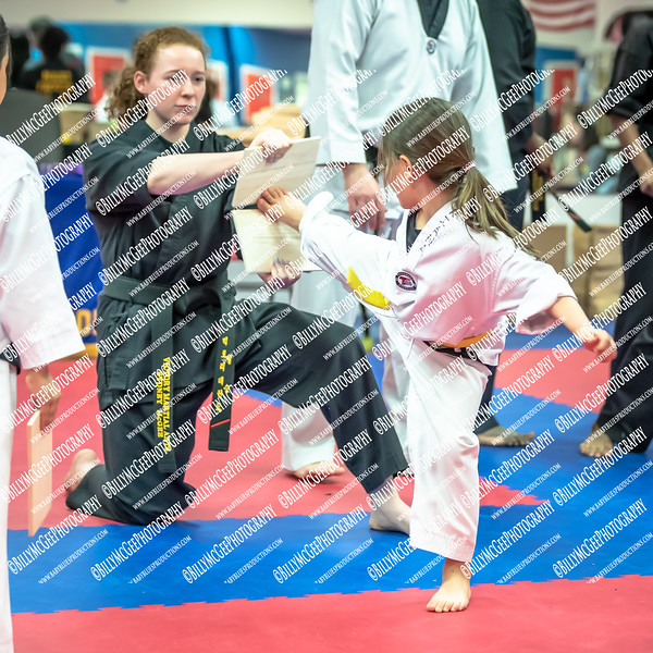 Victory Martial Arts - Tae Kwon Do School - Under Belt Test - 28 March 2019
