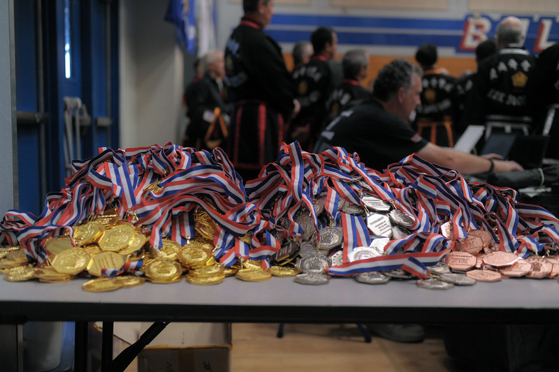 Gold, Silver and Bronze at the 2016 WKSA Pacific Tournament, Folsom, CA.  April 16, 2016.