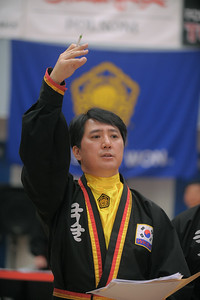 Master Alex Suh SIKJN at the 2016 WKSA Pacific Tournament, Folsom, CA.  April 16, 2016.