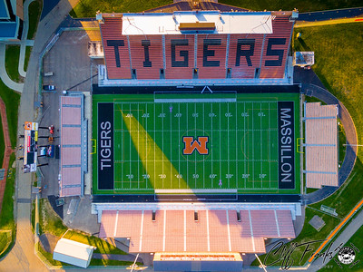 Massillon Tiger Stadium 11-8-2015