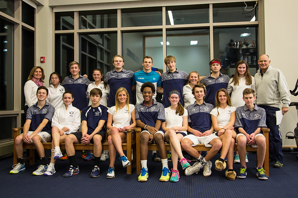 Boys and Girls Varsity Squash