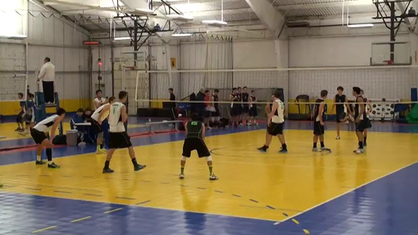 Matthew Drab Volleyball 2014