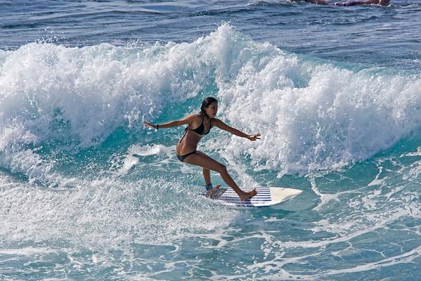 Maui Surfer Gal