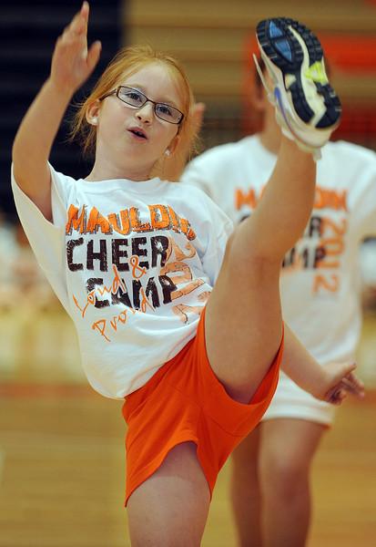 The 24th Annual Mauldin Mavs Cheerleading Camp sponsored by the Mauldin High School State Champion Cheerleaders, was held in the school's gymnasium.<br /> GWINN DAVIS PHOTOS<br /> gwinndavis@gmail.com  (e-mail) <br /> (864) 915-0411 (cell)<br /> gwinndavisphotos.com (website)<br /> Gwinn Davis (FaceBook)