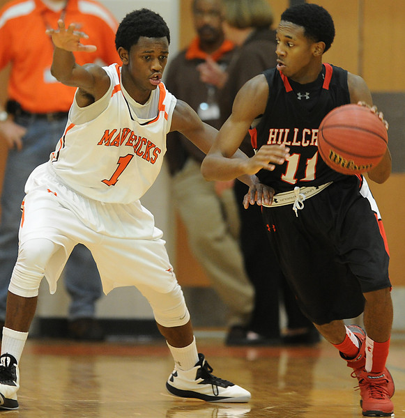 The Mauldin Mavericks played host to the Hillcrest Rams for basketball games.<br /> GWINN DAVIS PHOTOS<br /> gwinndavisphotos.com (website)<br /> (864) 915-0411 (cell)<br /> gwinndavis@gmail.com  (e-mail) <br /> Gwinn Davis (FaceBook)