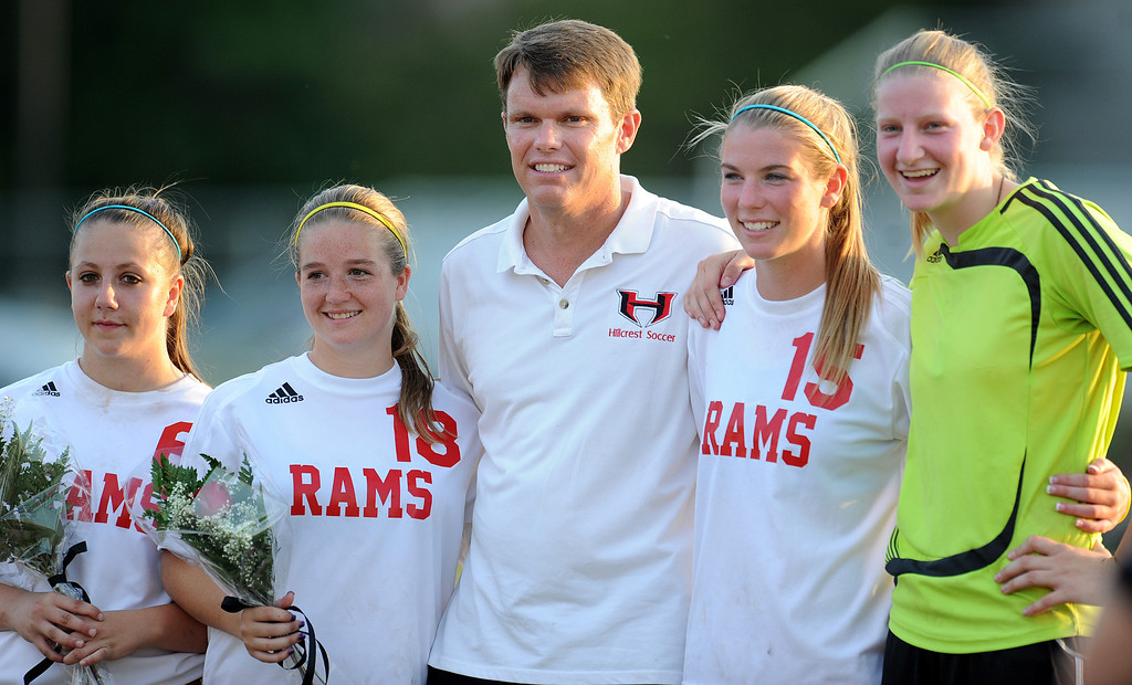 The Hillcrest Rams played host to the Woodmont Wildcats in a soccer match.<br /> GWINN DAVIS PHOTOS<br /> gwinndavis@gmail.com  <br /> (864) 915-0411