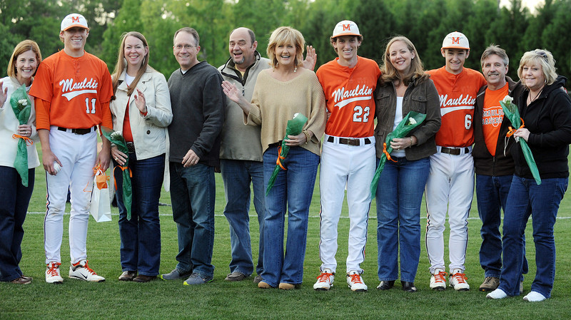 Mauldin High School Girls Soccer Team as well as the Mauldin Baseball Team celebrate Senior Night.<br /> GWINN DAVIS PHOTOS<br /> gwinndavis@gmail.com  <br /> (864) 915-0411