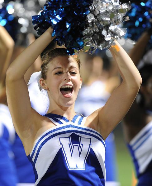 The Mauldin Mavericks played host to the Woodmont Wildcats in a Class-AAAA football game.<br /> GWINN DAVIS PHOTOS<br /> gwinndavisphotos.com (website)<br /> (864) 915-0411 (cell)<br /> gwinndavis@gmail.com  (e-mail) <br /> Gwinn Davis (FaceBook)