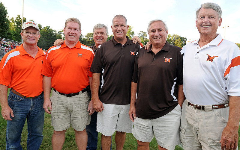 Mauldin's Chain Gang on the job!! Thanks to you all for your help and hospitality on Friday nights!!! Gwinn_<br /> The Mauldin Mavericks played host to the Woodmont Wildcats in a Class-AAAA football game.<br /> GWINN DAVIS PHOTOS<br /> gwinndavisphotos.com (website)<br /> (864) 915-0411 (cell)<br /> gwinndavis@gmail.com  (e-mail) <br /> Gwinn Davis (FaceBook)