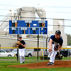 Teutopolis pitcher Darren Probst watches a pitch fly toward home plate early in a 9-1 win over Effingham.