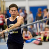 Teutopolis' Andrew McWhorter prepares to set his pole during the Class 1A state track preliminaries in Charleston. McWhorter advanced to the finals after he cleared 13-06.