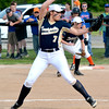 Teutopolis' Kadi Borries pitches during the seventh inning of the Class 2A Flora Regional title game. Teutopolis lost 3-1.