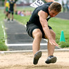 5-7-13<br /> MIC track and field<br /> Western's Nick Braden<br /> KT photo | Tim Bath