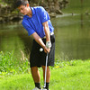 5-6-13<br /> Boys Golf Northwestern HS vs Cass HS<br /> Blaine Brutus from Northwestern HS<br /> Chipping onto the 4th green.<br /> KT photo | Tim Bath