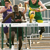 5-7-13<br /> MIC track and field<br /> Eastern's Grant Cole winning the finals for the 110 meter hurdles.<br /> KT photo | Tim Bath