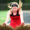 4-30-14<br /> Taylor track & field<br /> Cami Hansen in the long jump.<br /> Kelly Lafferty | Kokomo Tribune