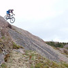 steeper than it looks and it looks like he's done that before