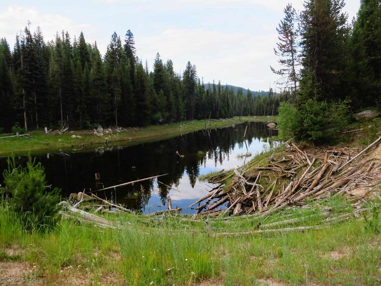 Lower Jug Creek Reservoir.