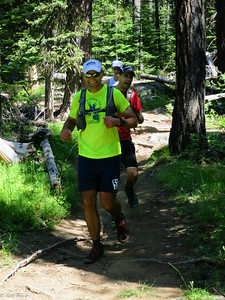 Brent, Zeb, and Paul stay strong as they start back uphill.