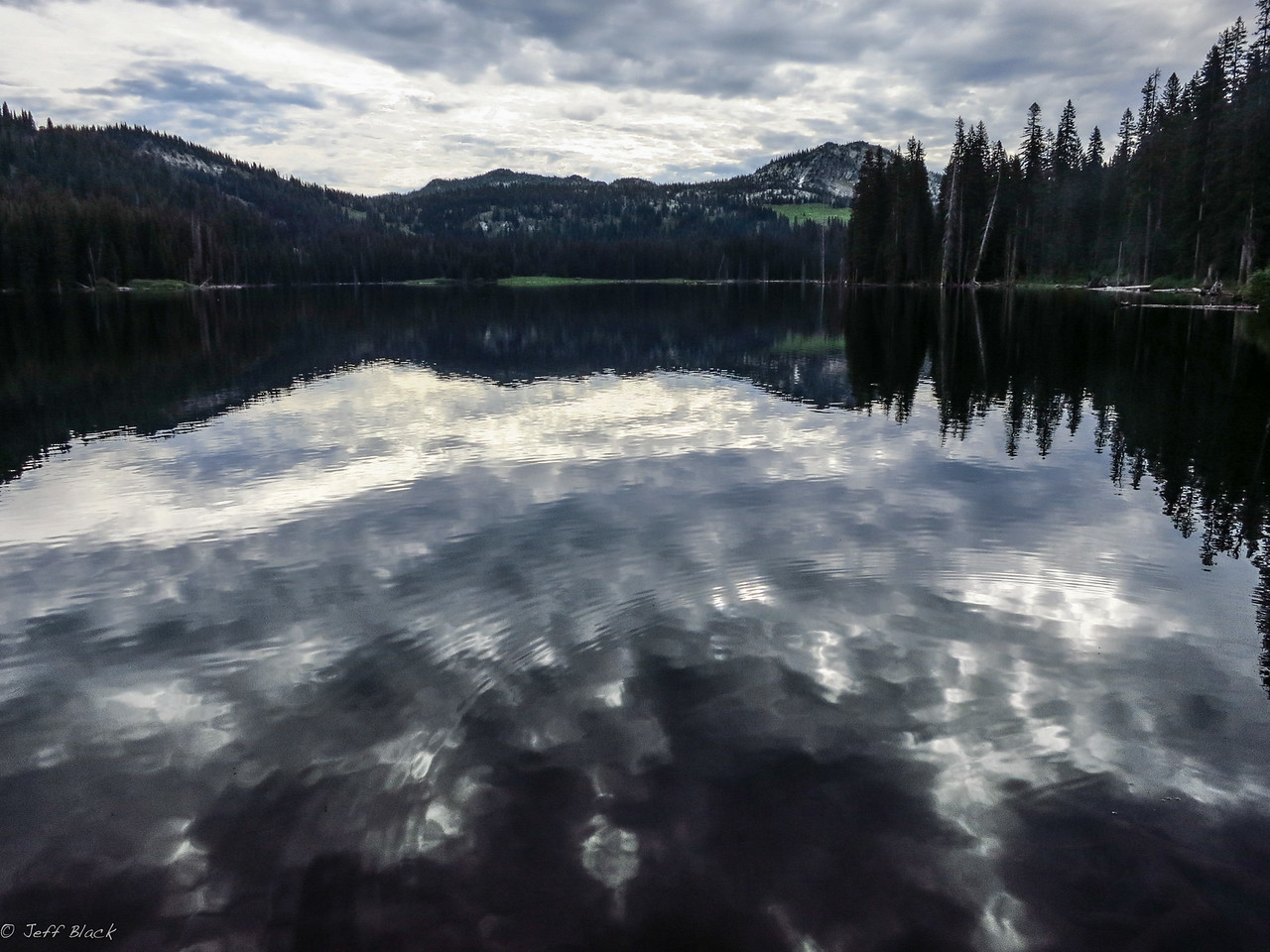 Boulder Lake, early morning.