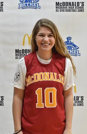 McDonald's Michiana Girls All Stars - 2017