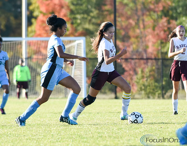 101216  Wesley Bunnell | Staff  Med Ed Prep Girls Soccer hosted MLC on Wednesday afternoon. Natalia Mularzuk #6