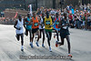 This picture caught my attention because half of them don't have a foot touching the ground.  These guys float which is why none of us are in this picture!  The young man second from the right in blue and red was the eventual winner.  I think his time was 2:11.