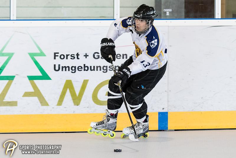 Novizen U18: IHC Grizzlys Hünenberg - Rolling Stoned Tuggen - 18:4