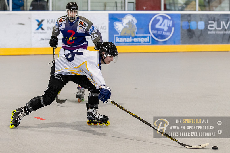 Inline Hockey Elite U18 - 2019: Z-Fighters Oberrüti-Sins - IHC Rolling Stoned Tuggen - 28-04-2019