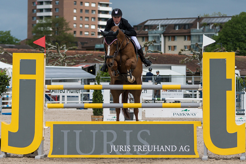 Zuger Springkonkurrenz 2016 - Preis der V-ZUG AG