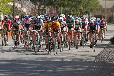 Aaron Hanna in front