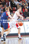 DAVIDSON, NC -  Davidson defeats University of Pennsylvania 79-50 in non-conference men's basketball action held at Belk Arena in Davidson, North Carolina.