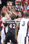 SEATTLE, WA - Gonzaga (#21) defeats Davidson 103-91 in non-conference basketball action held at the KeyArena in Seattle, Washington.
