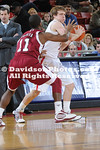 DAVIDSON, NC -  Davidson defeats UMass 63-61 in non-conference men's basketball action held at Belk Arena in Davidson, North Carolina.
