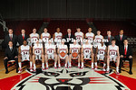 20 October 2010: Davidson men's basketball pose for their annual head and team shots at Baker Sports Complex in Davidson, North Carolina.