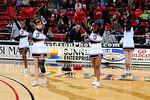 19 January 2012:  Davidson defeats College of Charleston 87-69 in SoCon basketball action at Belk Arena in Davidson, North Carolina.